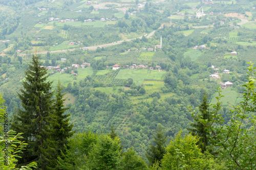 Recess Fitting Zen Macahel Valley in Eastern Black Sea, Artvin, Turkey.