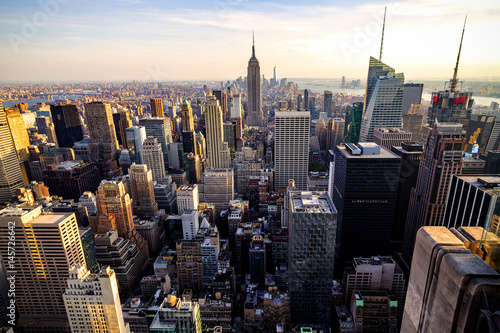 Fototapety, obrazy: Manhattan from Above 2