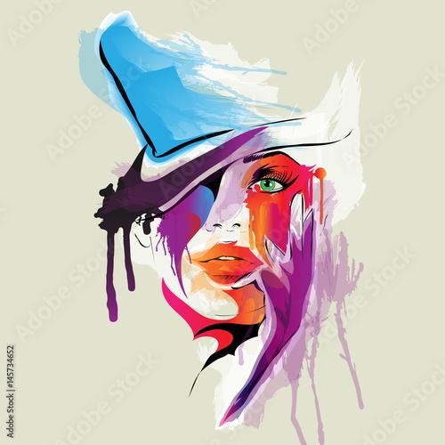 kolorowa-twarz-kobiety