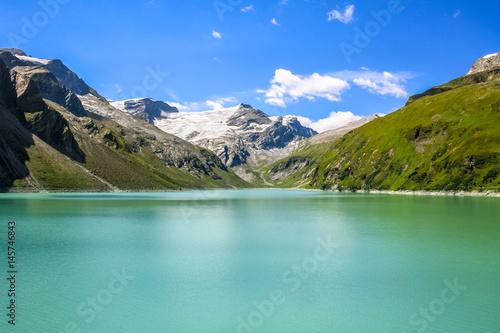 Plakat Silvretta Reservoir