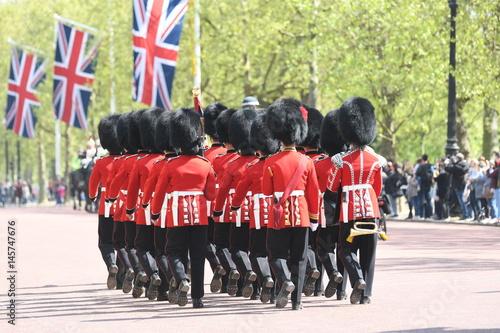 Canvas Print Buckingham Guards