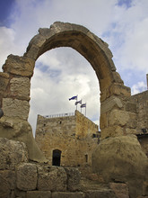 Tower Of David Citadel Arch Wi...