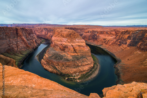 Staande foto Arizona Horseshoe Bend Arizona