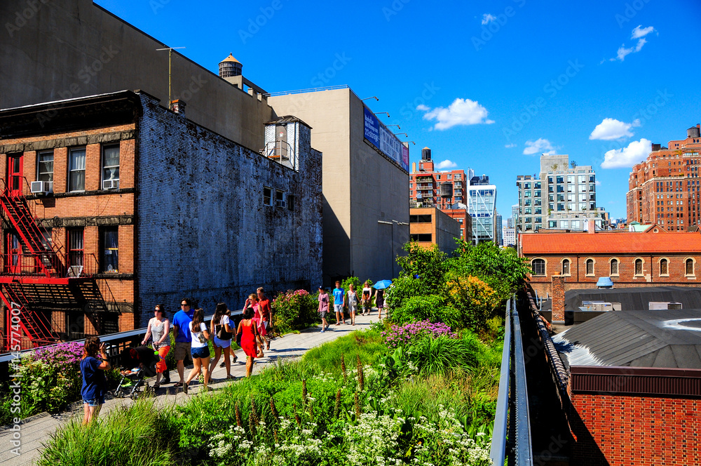 Fototapety, obrazy: The High Line, New York, New York