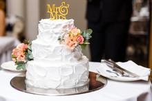 A Multi Level White Wedding Ca...
