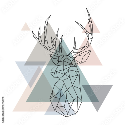 geometric-reindeer-illustratio