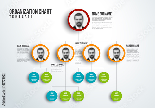 Organizational Chart Layout Template Buy This Stock Template And