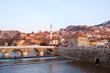 bridges over the river of Sarajevo, bosnia