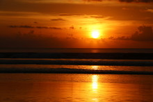 Sunset In Legian (Bali)