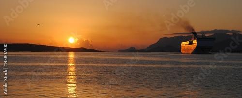In de dag Rio de Janeiro tramonto sardegna