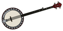 Classic Five Strings Banjo