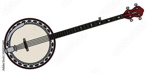 Photo Classic five strings banjo