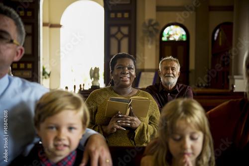 Fotografie, Obraz  Church People Believe Faith Religious