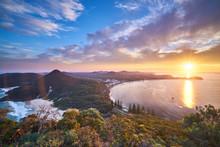 Mount Tomaree View Toward Nels...