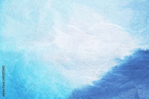 japonski-material-papierowy-niebieski