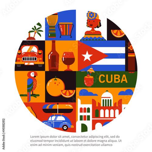 Cuba Havana travel concept Wallpaper Mural