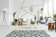 canvas print picture - Black and white decor