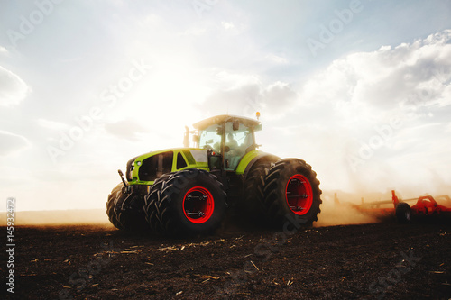 Seeding for next season Canvas Print