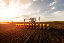 Working On Farmland