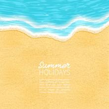 Beach, Sand, Sea,