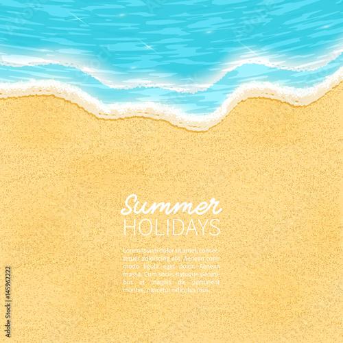 Photo beach, sand, sea,