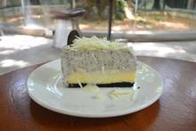 White Chocolate Cheesecake On ...