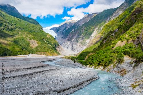 Fototapeta Franz Josef Glacier, Located in Westland Tai Poutini National Park on the West Coast of New Zealand