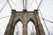 Brooklyn bridge, in New York.