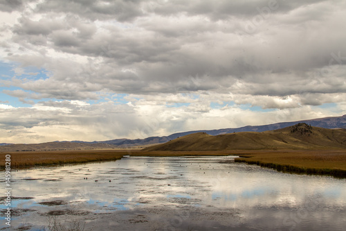 Photo  A Stormy Day on the National Elk Refuge Near Jackson, Wyoming