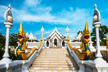 Wat Kaew Temple In Krabi, Thai...