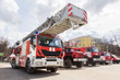 Exhibition of fire trucks