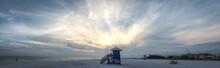 Panoramic Siesta Key Lifeguard Tower - Sarasota Florida