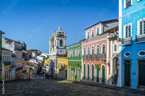 Photo sur Aluminium Brésil Pelourinho - Salvador, Bahia, Brazil