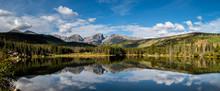 Panorama - Sprague Lake, Rocky Mountain National Park - Colorado