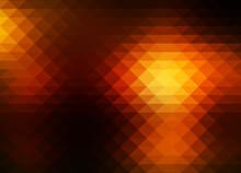 Black Orange Yellow Rows Of Tr...