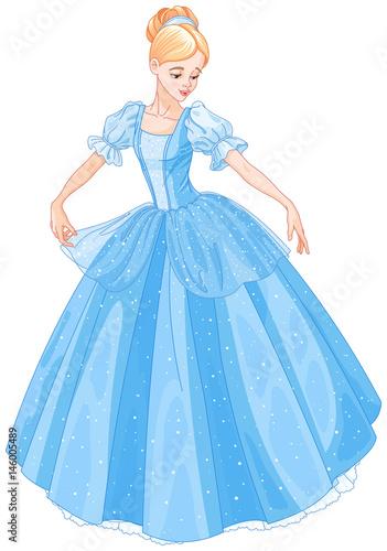 Staande foto Sprookjeswereld Cinderella