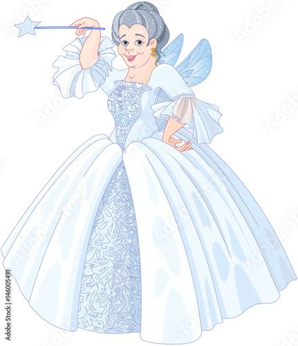 In de dag Sprookjeswereld Fairy Godmother