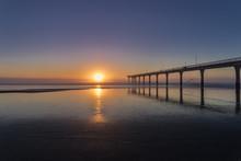 Sunrise At New Brighton In Chr...