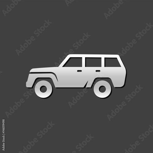 Платно Metallic Icon - Car