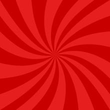 Red Spiral Design Background - Vector Graphics