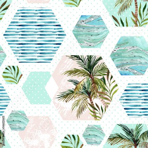 streszczenie-lato-szesciokat-geometryczny-ksztalty-wzor