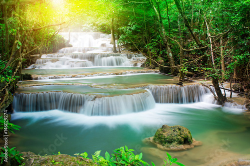 Recess Fitting Waterfalls Amazing waterfall in tropical forest