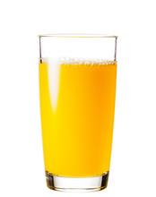 Process Of Pouring Orange Juic...
