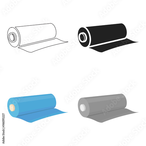 Fotografía Textile roll icon of vector illustration for web and mobile