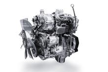 Car Engine Isolated On White B...
