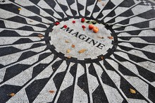 Imagine Mosaik In Den Strawberry Fields NYC