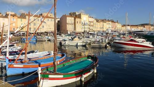 Photo Stands Nice Saint-Tropez, port de plaisance (France)