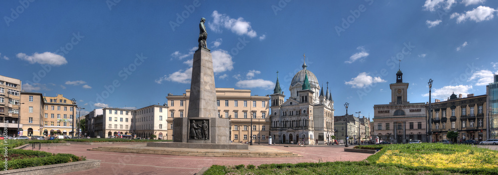 Fototapety, obrazy: Freedom Square in Lodz