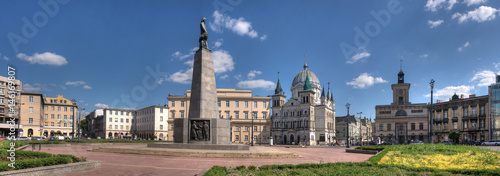 Freedom Square in Lodz