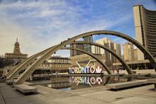 Colorful Toronto Sign In Toron...